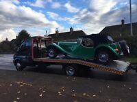 Car Van Recovery Transportation Breakdown Fully Insured Family Run Business