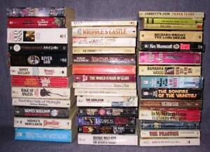 Morris West, Tom Wolfe, Frank Yerby, etc. (USED)