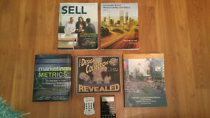 Second year Business Marketing textbooks