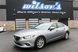 2015 Mazda MAZDA6 GS-SKYACTIV! LEATHER! NAVIGATION! SUNROOF! BLU