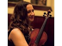 Learn violin with an experienced tutor in a friendly, fun atmosphere
