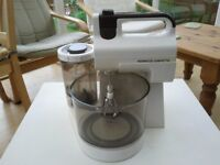 Vintage Kenwood Chefette with stand, dough hooks and liquidisers