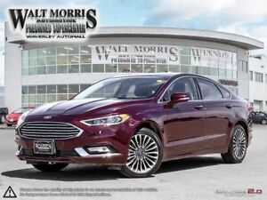 2017 FORD FUSION SE:  ACCIDENT FREE, FULLY LOADED