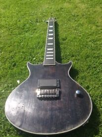 Hand built luthier made double cut les Paul with EMG 81, like Gibson, epiphone