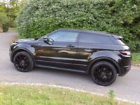 r Evoque Dynamic Coupe SI4, 2012, TOP SPEC Petrol, Black Edition, Red Leather 2l Turbo, FLRSH, 43k