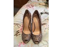 Nine West Danee Peep Toe Shoe