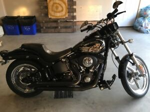 2008 Harley Davidson Night Train Grim Reaper Edition