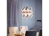 Ikea pa ceiling lamp like new and assembled