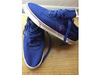 Ralph Lauren Hanford Royal Blue trainers size 8