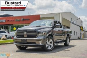 2014 Ram 1500 SPORT | QUAD | 4X4 | HEMI | LEATHER