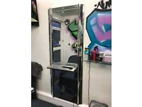 hairdressing mirror for sale.
