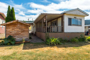 #10 6902 Okanagan Landing Rd, Vernon - Wonderful single wide