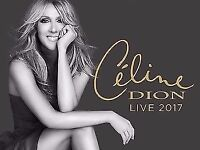 Celine Dion SECOND ROW Glasgow 2 tickets - Once In A Lifetime The SSE Hydro Saturday 5th August
