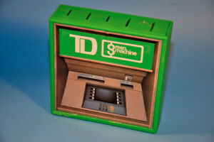 Vintage 1980's TD GREEN MACHINE ATM Coin sorter Promo Bank