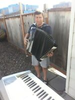 Accordian / Piano Player