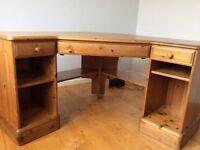 Pine corner desk - Ducal. Good condition