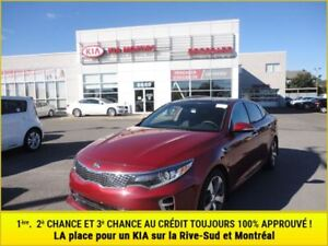 2016 Kia Optima SX Turbo 3.09% **Pneus d'hiver**