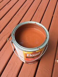 HIGHEST Quality Deck Stain - Solid Red