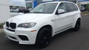 2010 BMW X5 M 555 H.P MONSTER -- WHITE ON BEIGE LEATHER