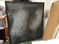 Large glazed picture frames