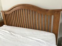 Double Bed with 2 Bedside Cabinets