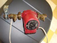 Grunfos water pump.