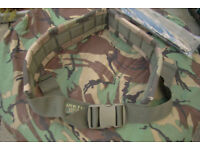 Arktis CCE (woodland) Camo - Padded Military Belt (new in packet)