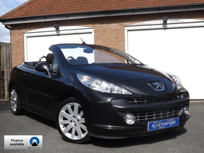 2009 (09) Peugeot 207 CC 1.6 GT Coupe/Cabriolet // LOW 49K MILES //