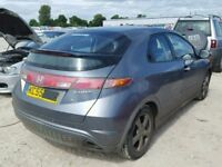 HONDA CIVIC TYPE S 2008 BREAKING FOR SPARES TEL 07814971951 HAVE FEW IN STOCK