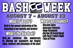 CloutsnChara Sports Cards Bash Week - Giveaways, Box Sales......