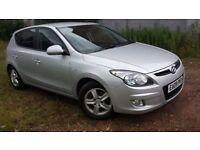 Hyundai i30, 1.6 petrol hatchback with long MOT