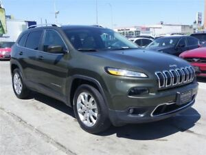 2016 Jeep Cherokee Limited 4X4|3.2L V6|GPS|B.CAMERA|LEATHER