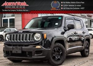 2015 Jeep Renegade Sport|ManualTransmission|KeylessEntry|AC|1.4L