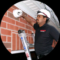 Security cameras system installations