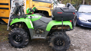 07 arctic cat 500 trade or sale