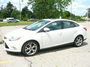 2012 Ford Focus SEL Sedan One Owner