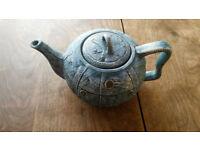 Novelty Denim Look Teapot