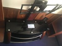 Costco Mahagony TV Mount and Stand in a very good condition