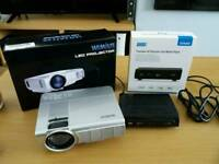 Wimius mini projector and August Freeview Receiver