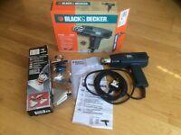 VGC Black & Decker 1400W Hot Air Paint Stripper Heat Gun with 4 Piece Nozzle Kit