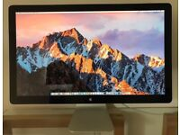 "27"" Apple Thunderbolt Cinema LED Display Monitor LCD A1407 7512"