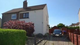 2 BEDROOM UNFURNISHED SEMI DETACHED HOUSE FOR RENT FRONT BACK GARDENS, GARAGE LOCATION KILMARNOCK