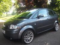 AUDI A2 1.4 SE 5dr + FREE 3M WARRANTY + FINANCE AVAILABLE + CALL 01162149247 (grey) 2003