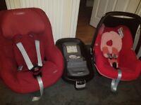 Maxi-cosi car seat set