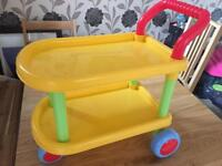 Children's tea trolley