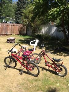 3 bikes, all or one at a time any  offer, always negotiable
