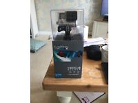 GoPro hero 4 with 64gb memory card and many accessories