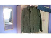 Green field jacket - New Look - size M
