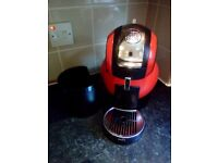 Dolce gusto melody 3 coffee machine in red