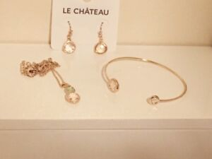 Le Chateau Gold Accent Jewelry Set